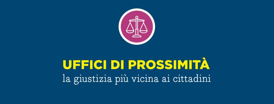 UFFICIO DI PROSSIMITA'